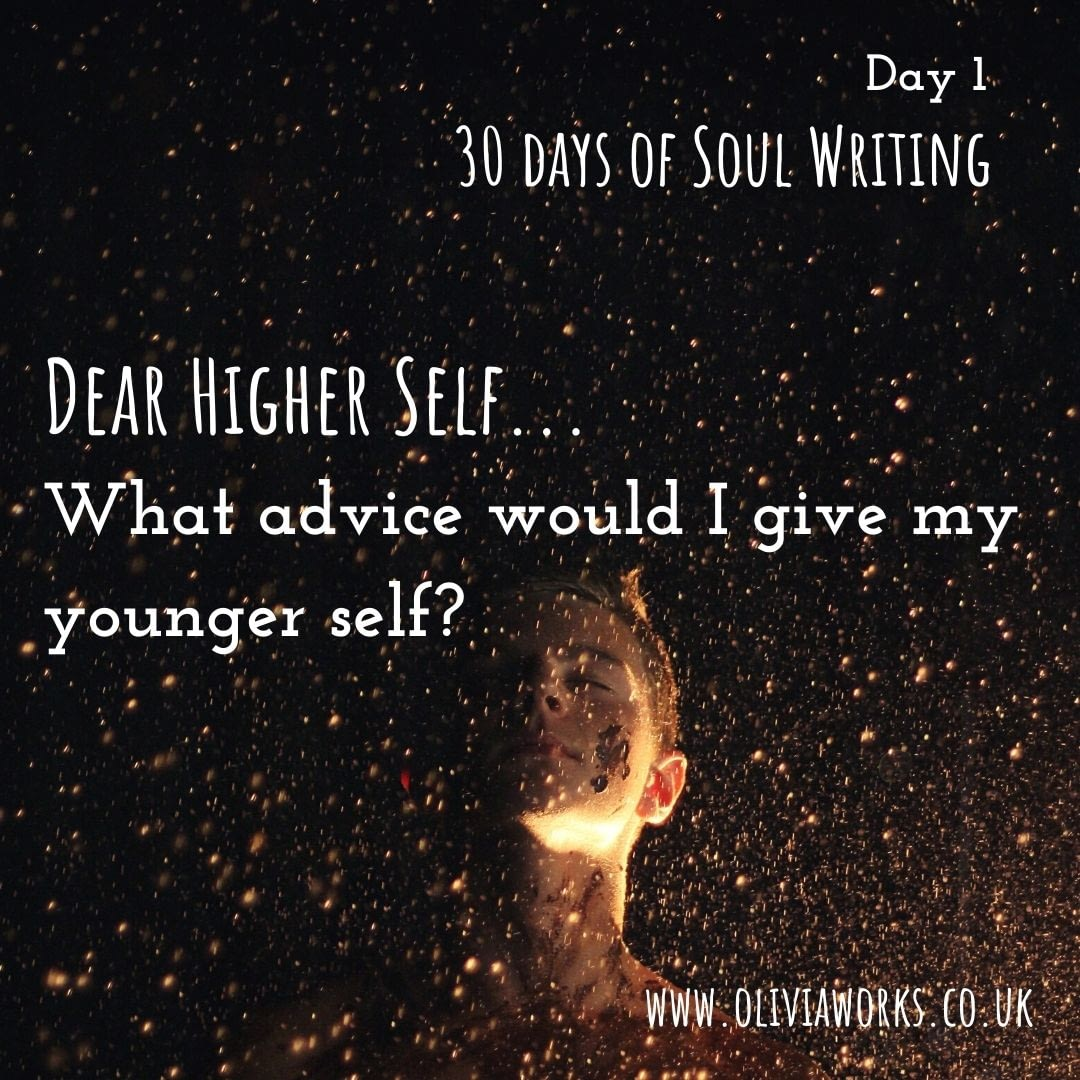 Free 30 Days of Writing Prompts - to connect to your soul